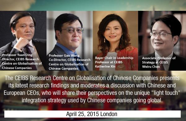 Globalisation of Chinese Companies: Is Win-Win Possible?