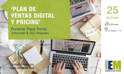 Desayuno IEM: Plan de ventas digital y pricing
