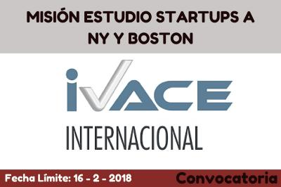 Misión Estudio Startups a Nueva York y Boston