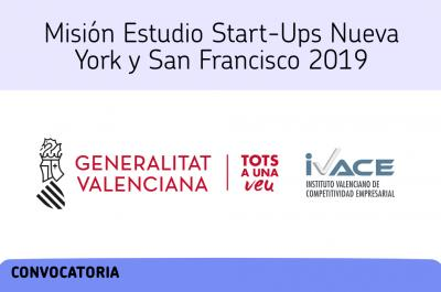 Misión Estudio Start-Ups Nueva York y San Francisco 2019