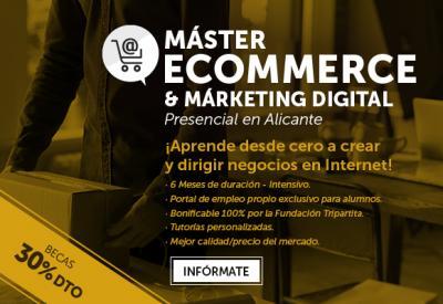 Máster de Marketing Digital en Alicante