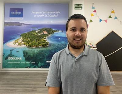 Alberto Sospedra, gerente de Cometa Travel