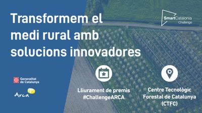 Gran Final SmartCatalonia Challenge 2020 con la Asociación de Iniciativas Rurales de Cataluña