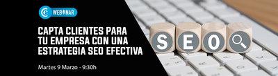 Webinar Capta Clientes Estrategia SEO