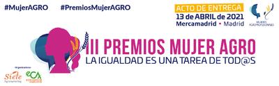 Acto de Entrega III Premios Mujer AGRO