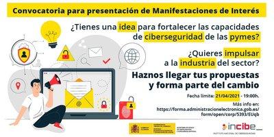 Convocatoria para presentación de Manifestaciones de Interés en Ciberseguridad