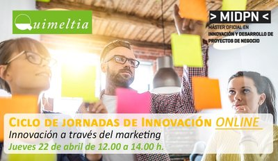 Webinar: Innovación a través del marketing